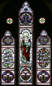 East window above the altar in Holy Innocents