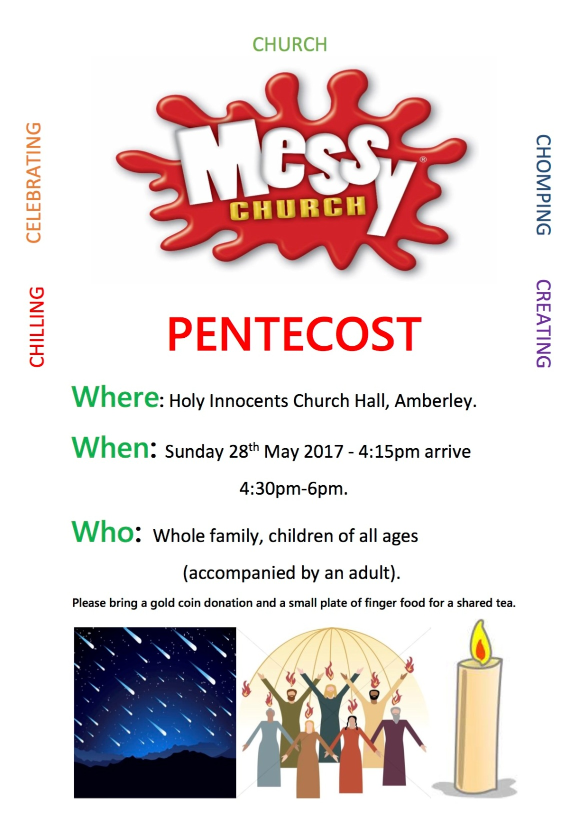 Pentecost Messy Church 2017
